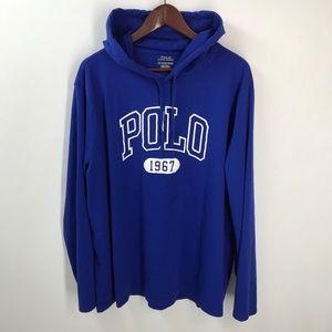 Polo Ralph Lauren Graphic Print Hooded Sweatshirt